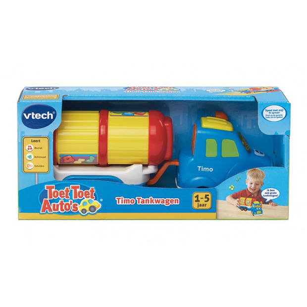 VTech Toet Toet Auto's Timo Tankwagen