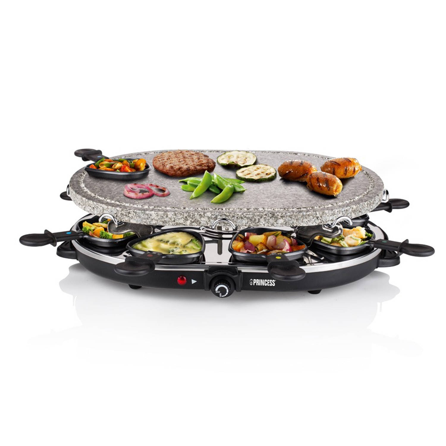 Princess steengrill/raclette 162720