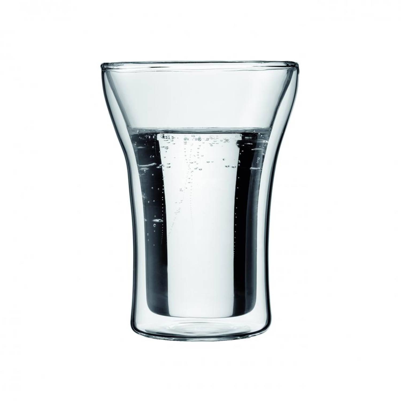 Bodum Assam dubbelwandig glas 0.25 liter (Set van 2)
