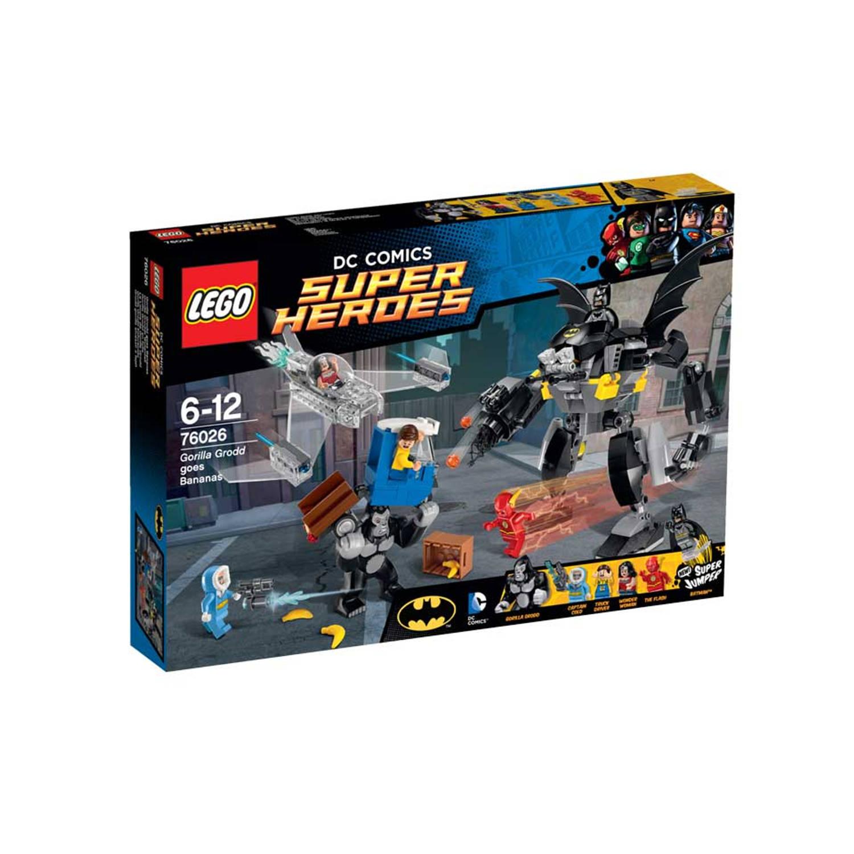 LEGO DC Comics Super Heroes Gorilla Grodd goes bananas 76026