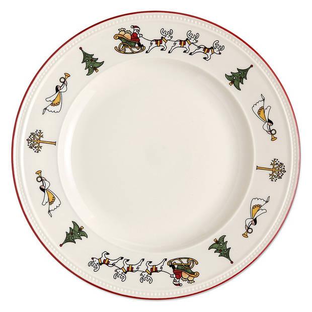 Wedgwood Windsor Christmas dinerbord - Ø 27 cm