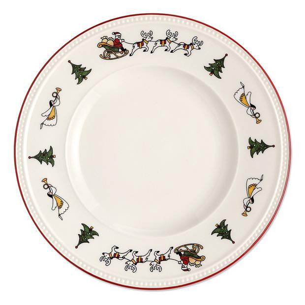 Wedgwood Windsor Christmas ontbijtbord - Ø 21 cm