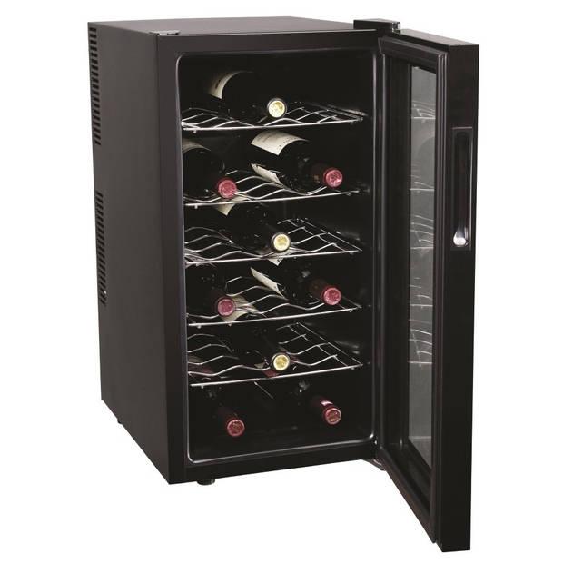 Wijnkoelkast voor 18 flessen