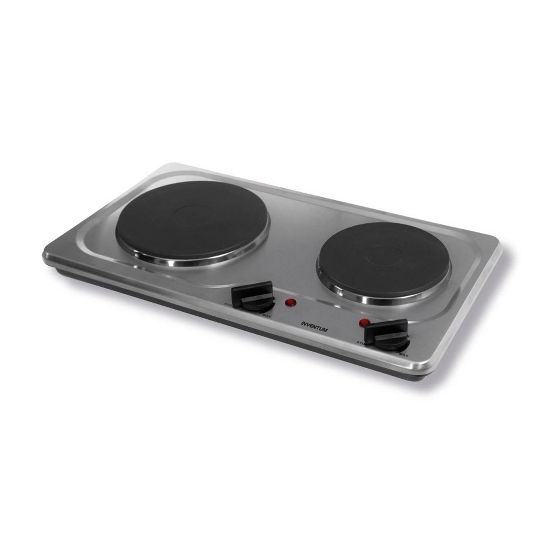Inventum KP521S kookplaat - 2-pits