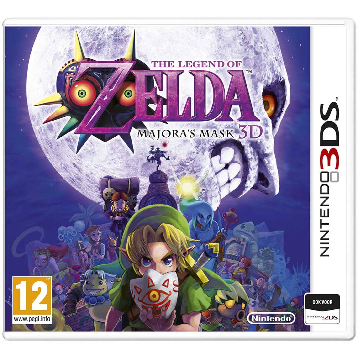 3DS The Legend of Zelda Majora's Mask 3D