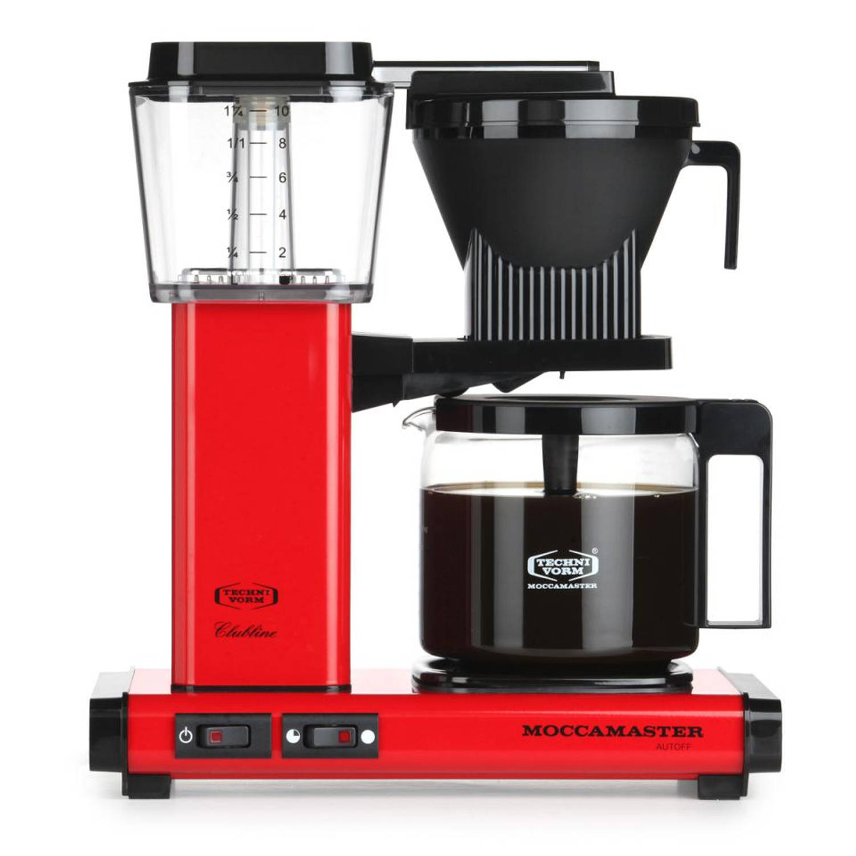 Douwe Egberts Moccamaster koffiezetapparaat - KBG 741 - rood