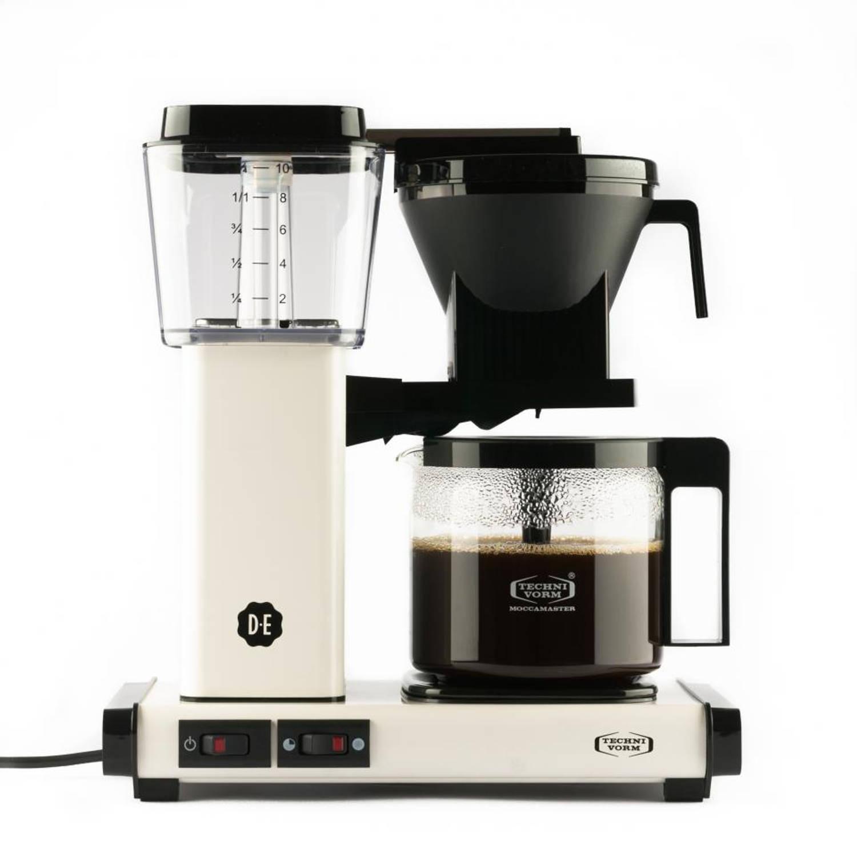 Douwe Egberts Moccamaster koffiezetapparaat - KBG 741 - wit