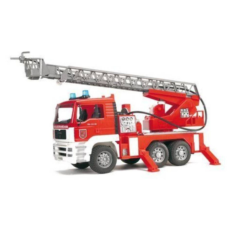 Afbeelding van 02771 Bruder MAN Brandweerwagen