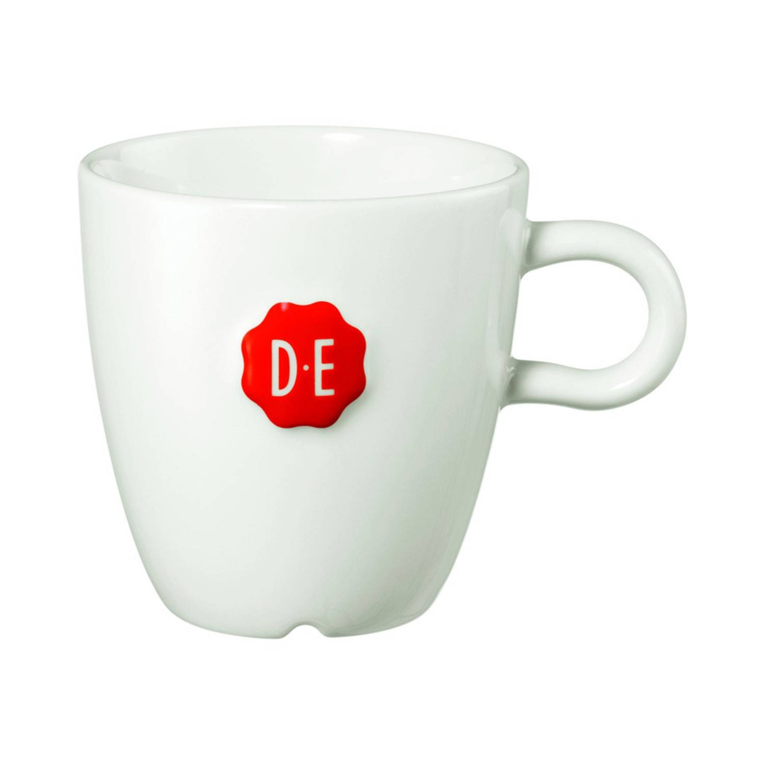 Douwe Egberts cappuccinomok medium - 27 cl - wit