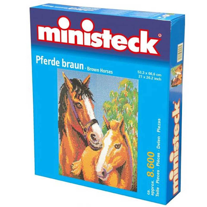 Bruine paarden, ca. 8600 stukjes