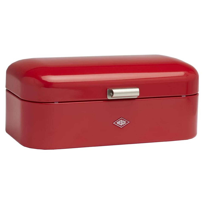 Dagaanbieding - Partijhandel Topper - Wesco Grandy broodtrommel - rood dagelijkse koopjes