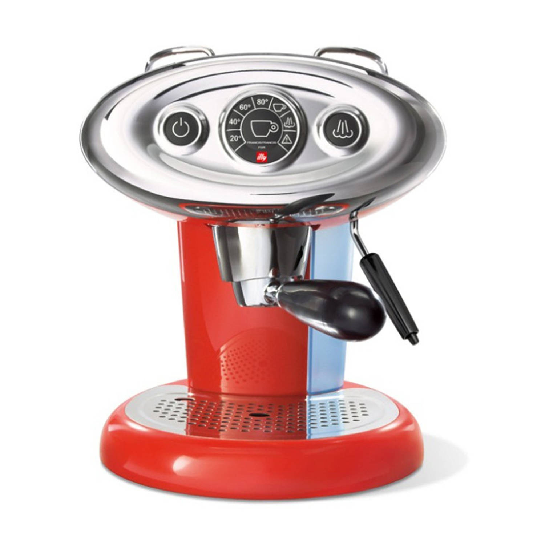 illy X7.1 Iperespresso espressomachine - rood