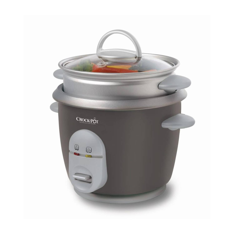 Crock-Pot rijstkoker - 0,6 L - grijs