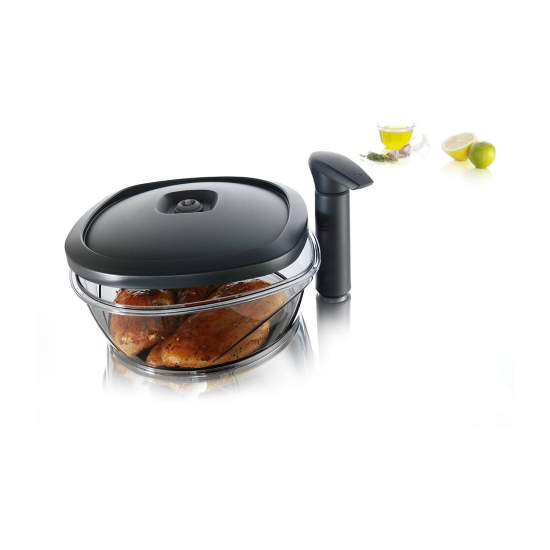 Tomorrow's Kitchen Instant Marinater - 2,5 l