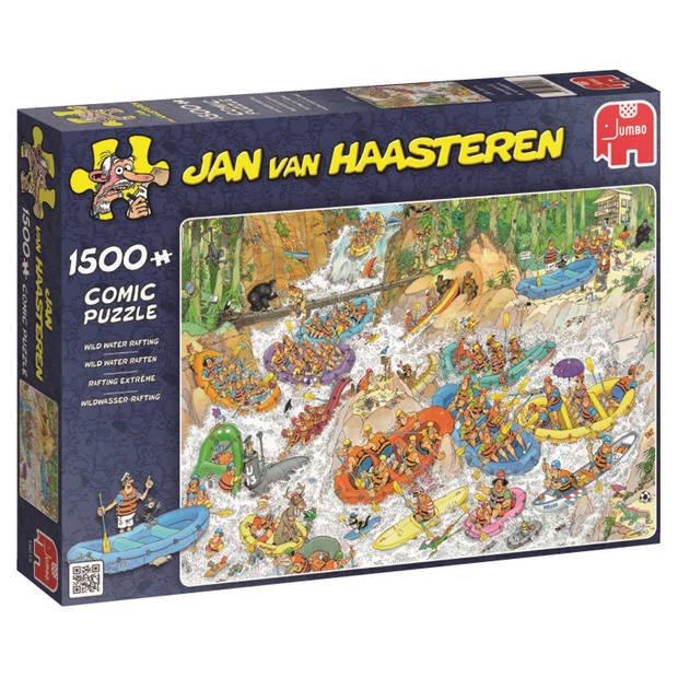 Jan van Haasteren puzzel wild water raften - 1500 stukjes