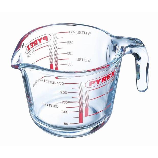 Pyrex Maatbeker - Glas 0,25l
