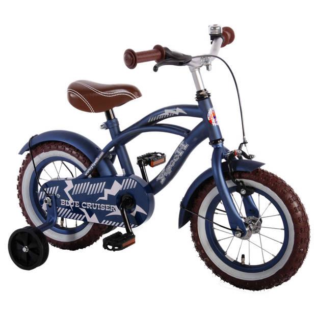 Yipeeh Blue Cruiser jongensfiets - 12 inch - blauw