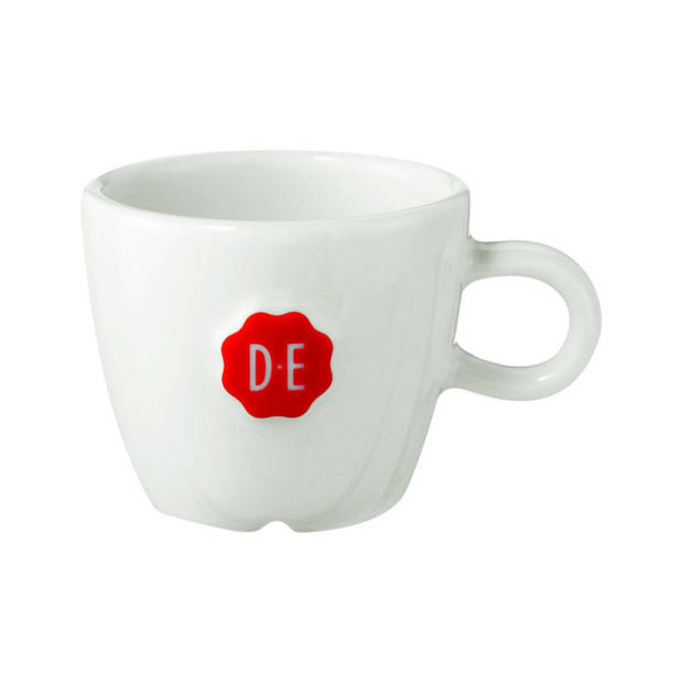 Douwe Egberts espressokop - 6 cl - wit
