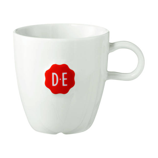 Douwe Egberts cappuccinomok large - 36 cl - wit