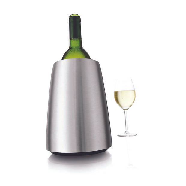 Vacu Vin Rapid Ice wijnkoeler - RVS Elegant