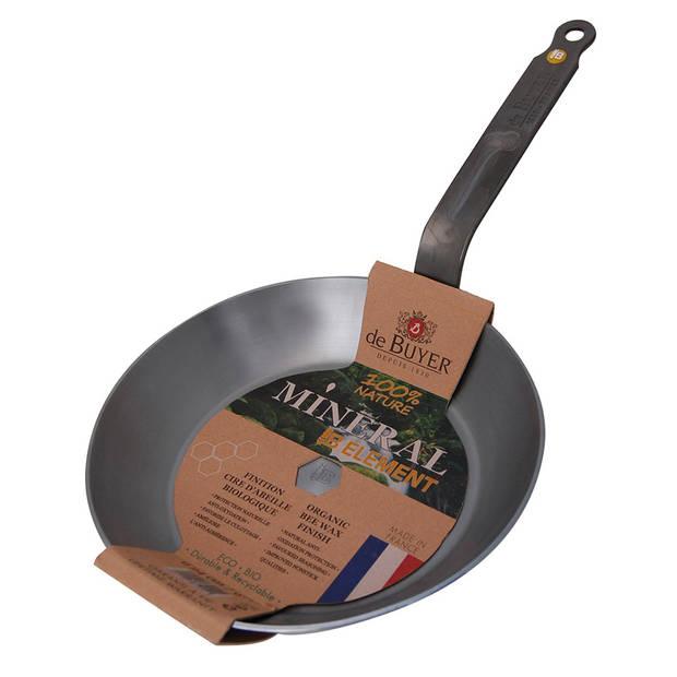 De Buyer Mineral B Element koekenpan - Ø 24 cm