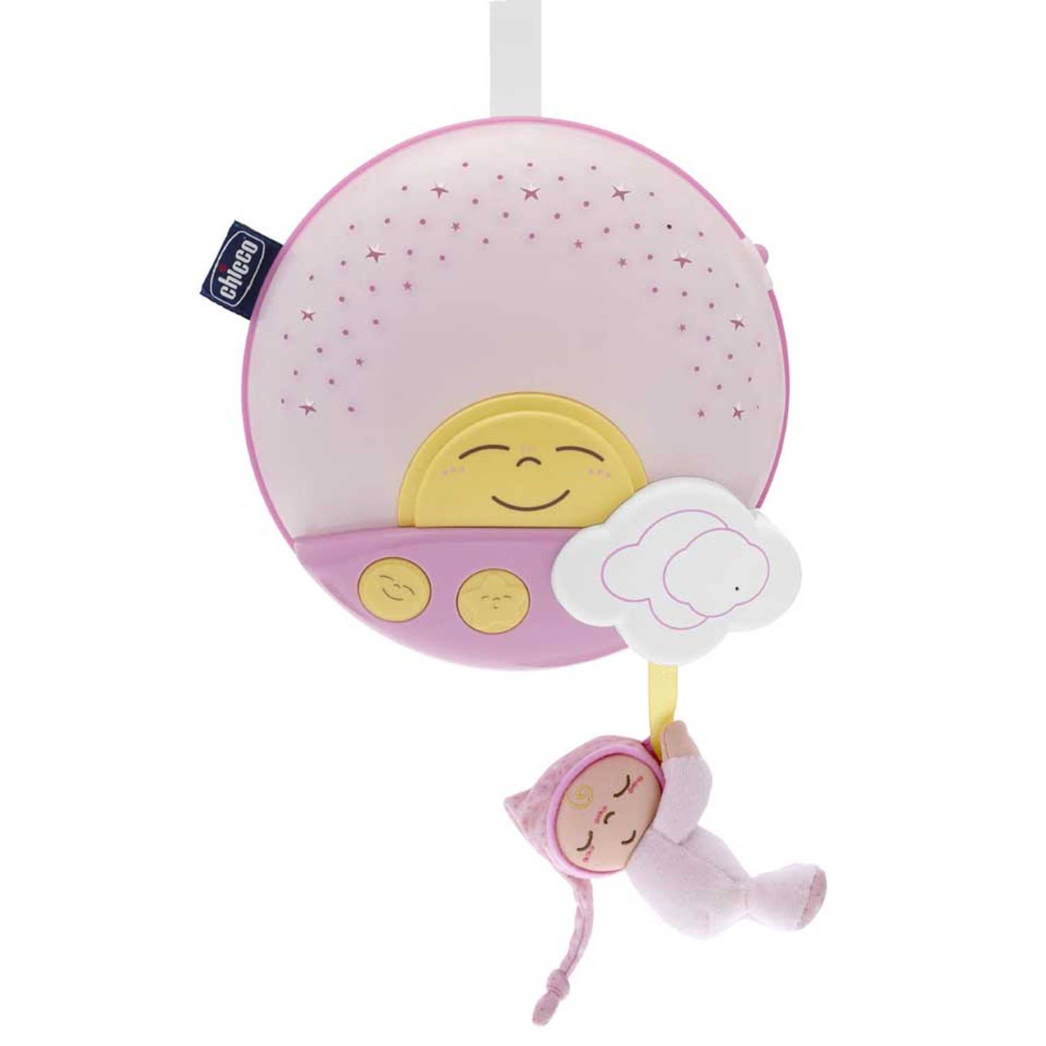 Chicco zonsopgangprojector roze