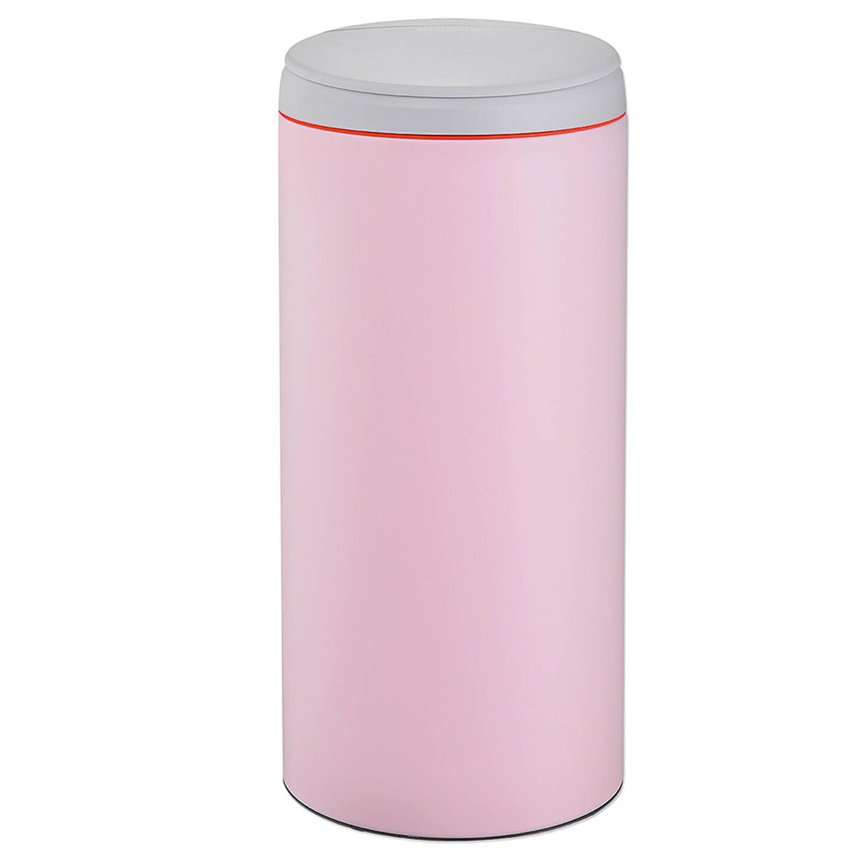 Brabantia Prullenbak Roze.Brabantia Flip Bin 30 L Mineral Pink