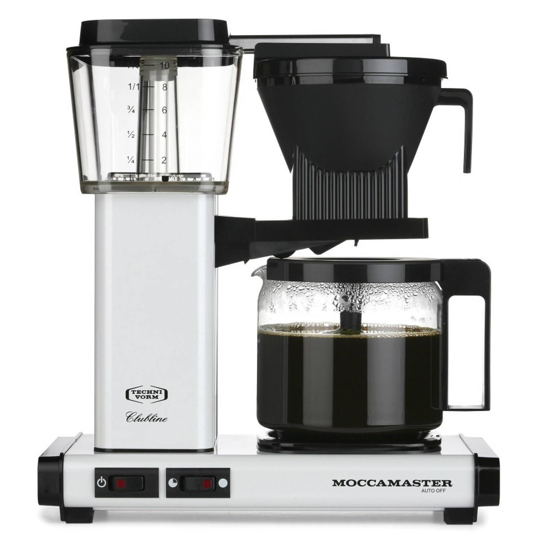 Moccamaster filterkoffiezetapparaat KBG741 - wit