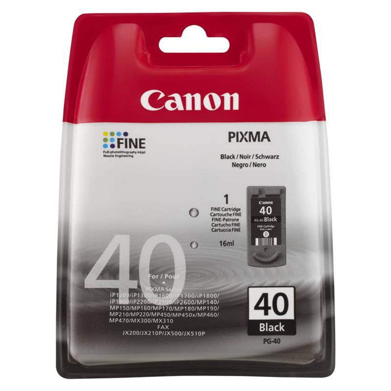 Canon PG-40 zwart Cartridge