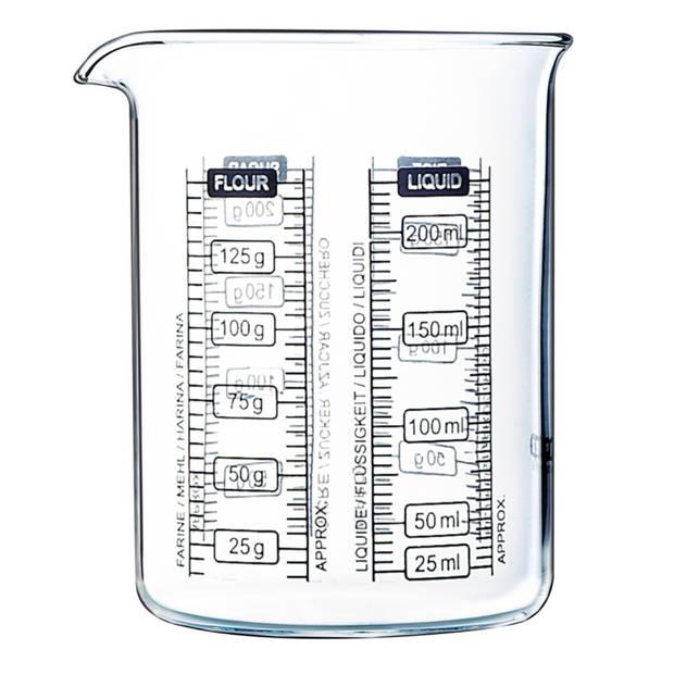 Pyrex maatglas - set van 2