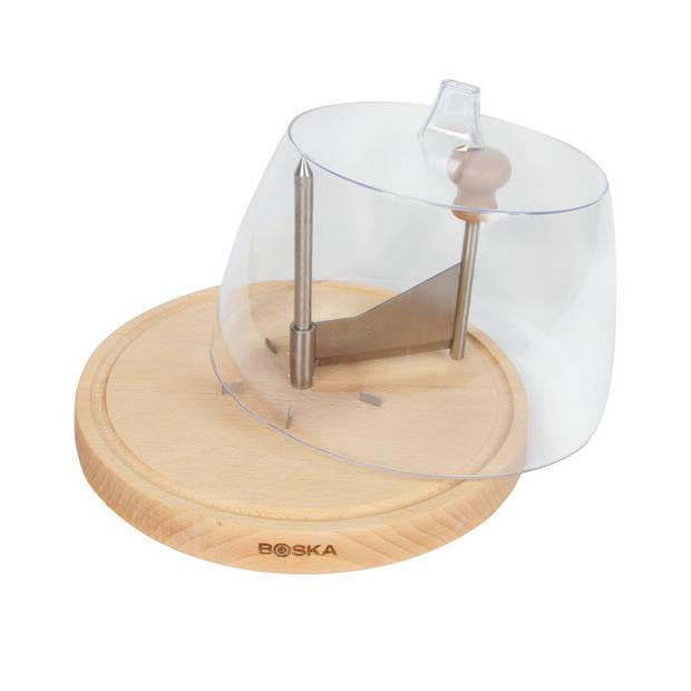 Boska Stolp voor Kruller - Kaasstolp - Transparant - ? 19,5 cm