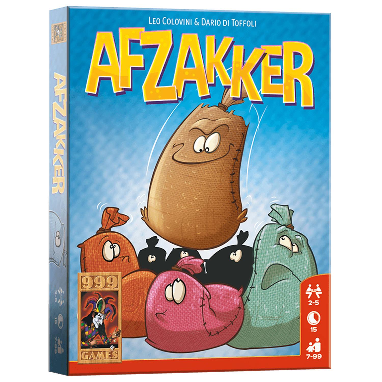 Afbeelding van 999 games - Afzakker - kaartspel