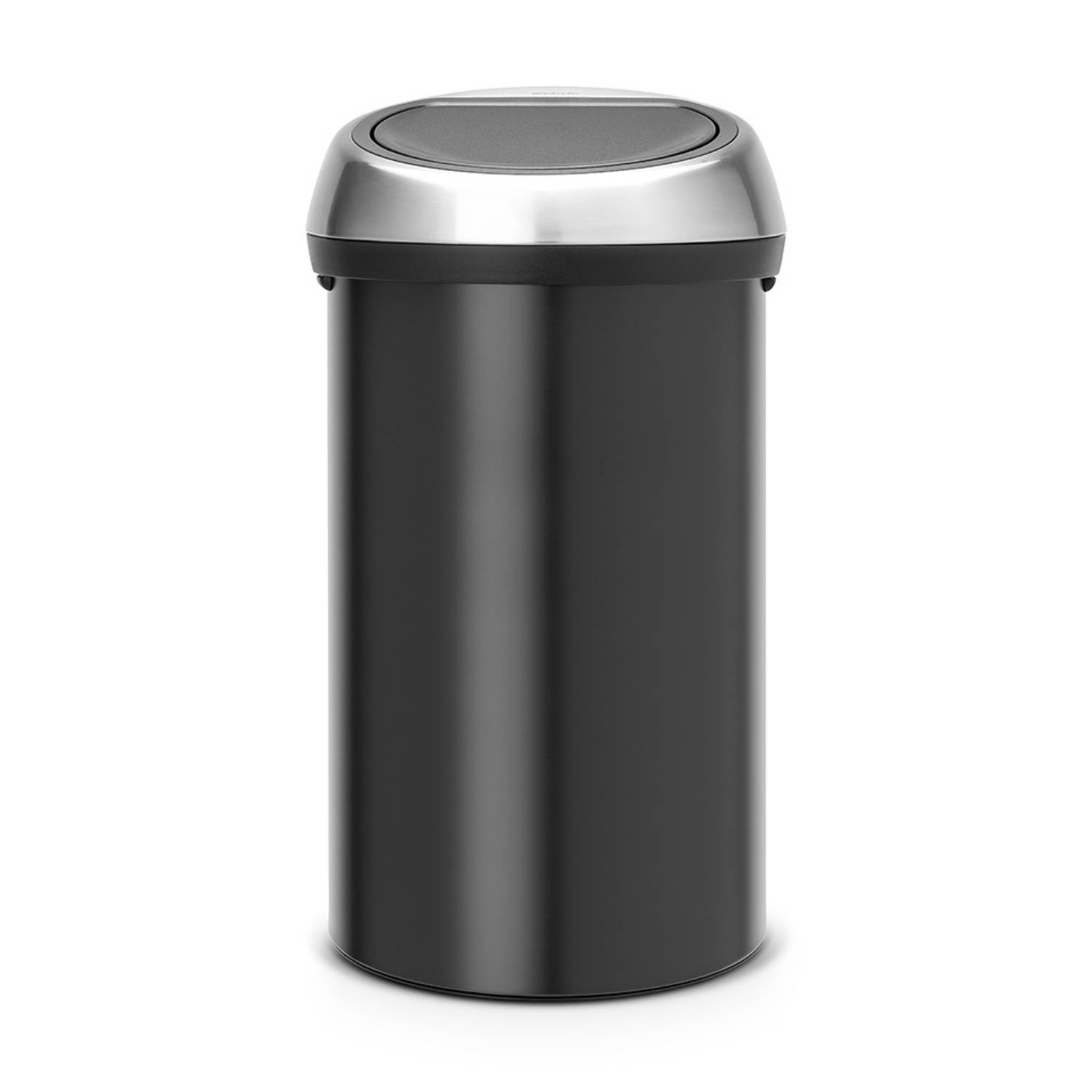 brabantia touch bin 60 l black blokker. Black Bedroom Furniture Sets. Home Design Ideas