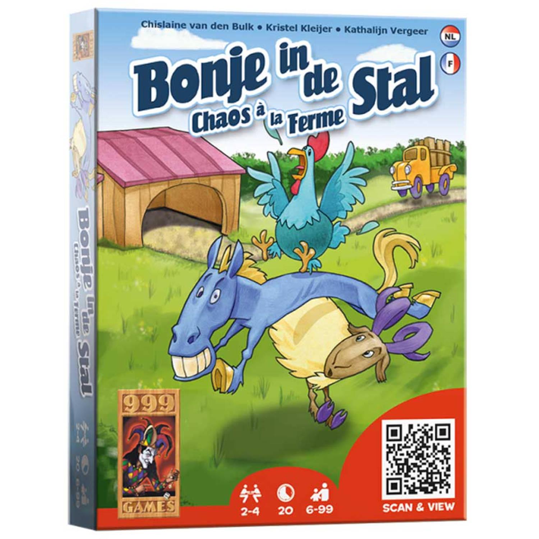 Afbeelding van Bonje in de Stal - Kaartspel