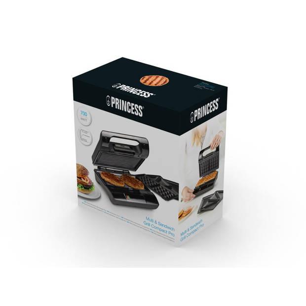 Princess Compact Pro tosti ijzer