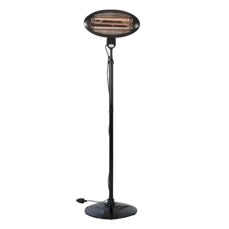 Staande Heater 2000w Zwart