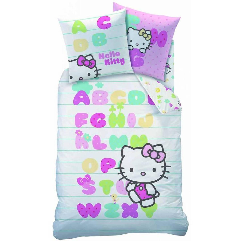 Dekbedovertrek Hello Kitty ABC