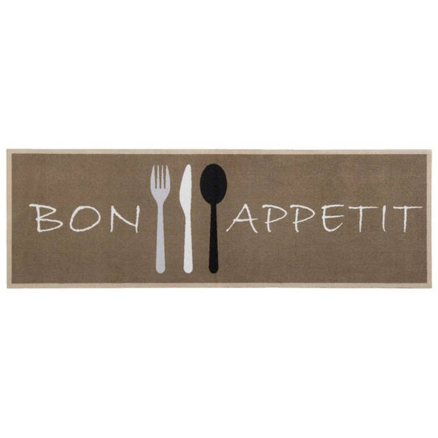 Keukenloper Bon Appetit - 50x150 cm