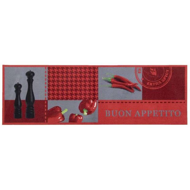 Keukenloper Buon Appetito - 50x150 cm