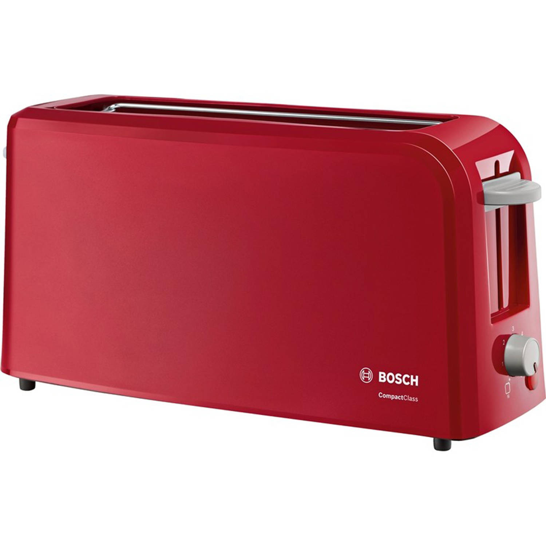 Bosch TAT3A004 broodrooster kunststof rood