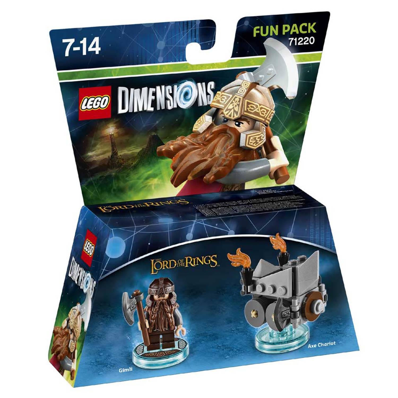 LEGO Dimensions LOTR Gimli Fun Pack