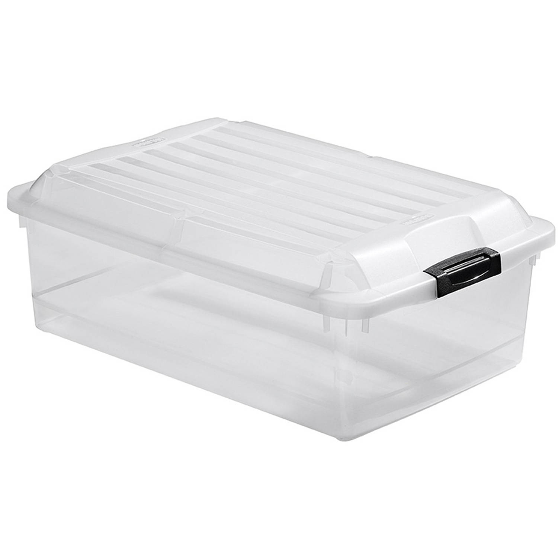 Curver Jumbo Multiboxx opbergbox 40 liter - transparant