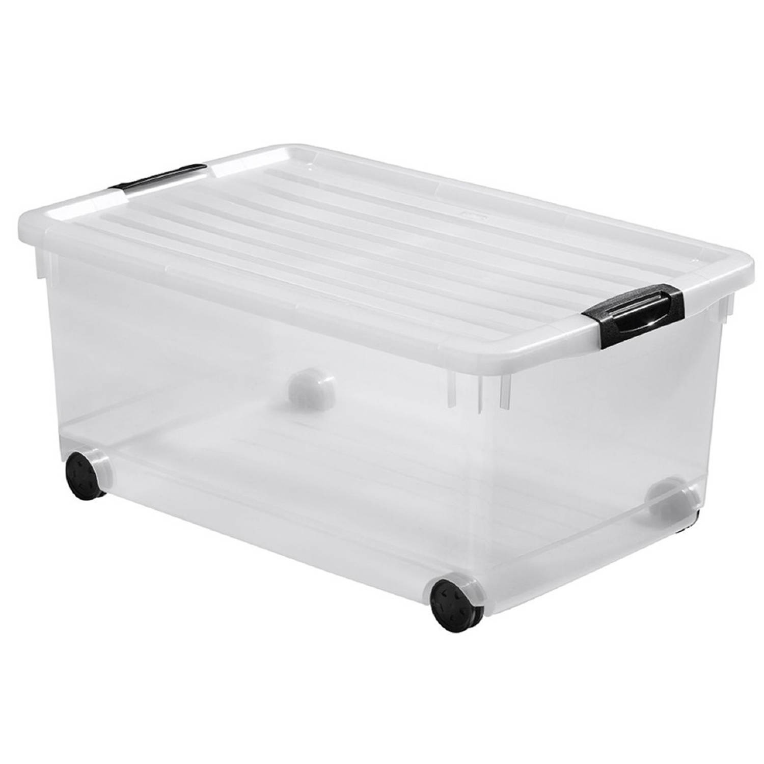 Curver Click'n Fit Multiboxx opbergbox 45 liter transparant
