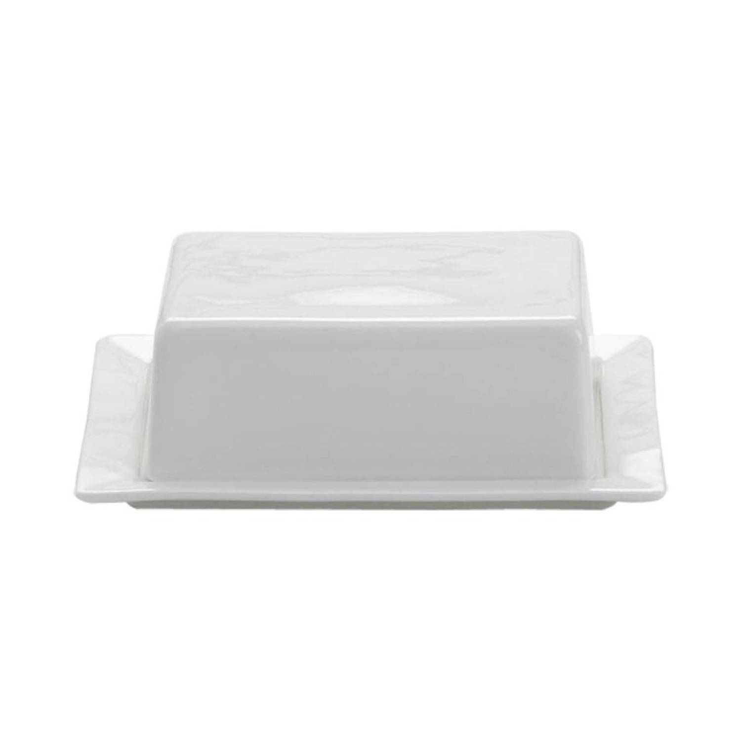Maxwell and Williams White Basics botervloot 16 x 13 cm