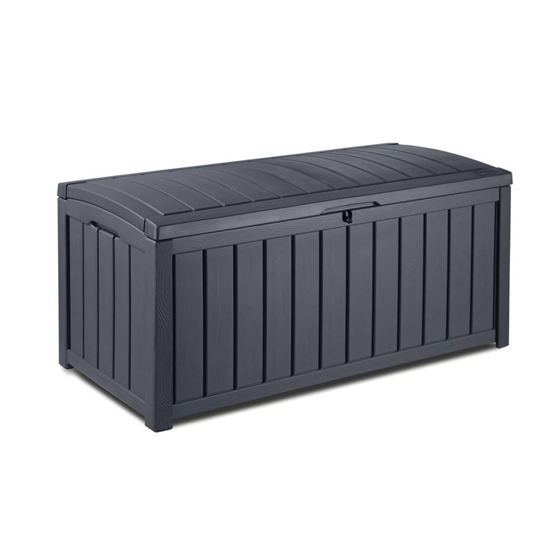 Tuinkussen Opbergbox Blokker.Keter Kussenbox Glenwood 128x68x61 Cm