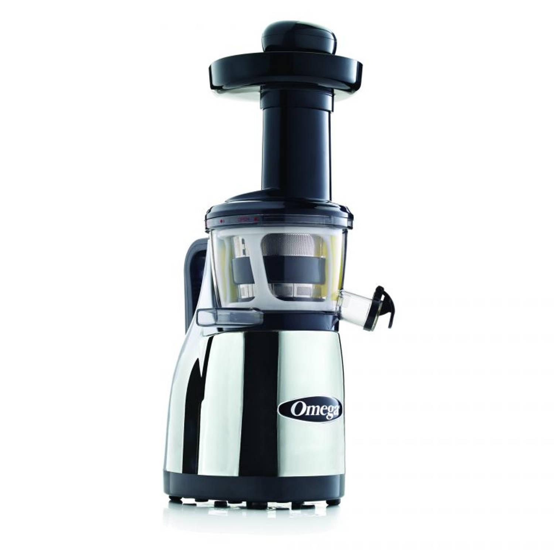 Omega Juicers Omega Vertical Slowjuicer 80 RPM Chroom VRT382HDC 1 exemplaar
