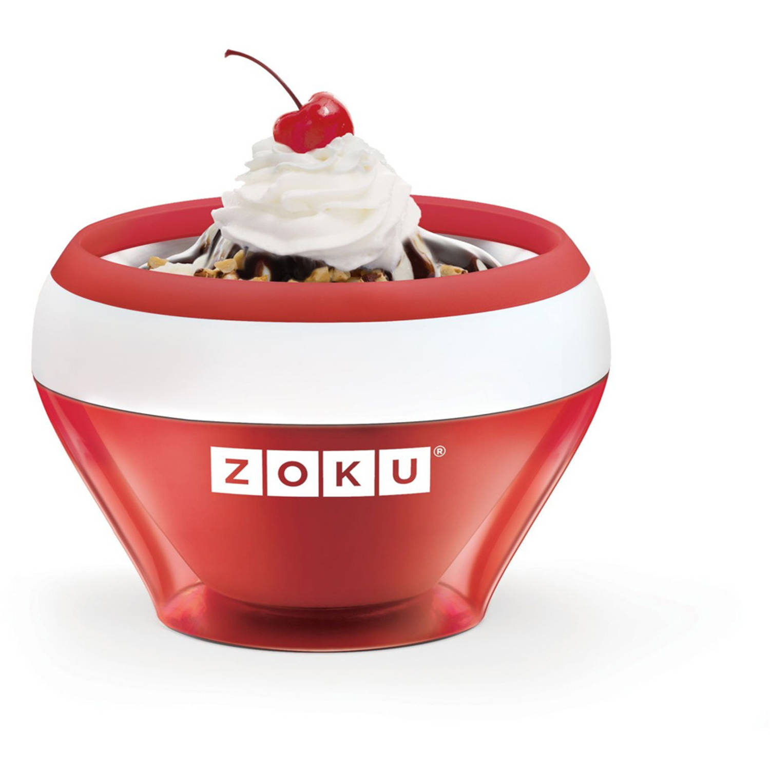 Zoku Ice Cream Maker Rood