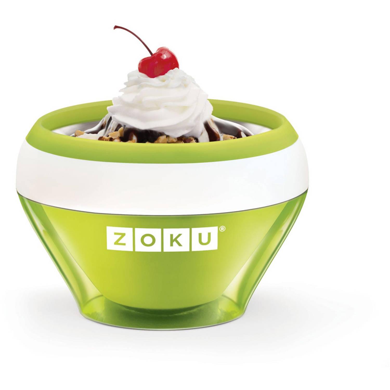 Zoku Ice Cream ijsmaker groen
