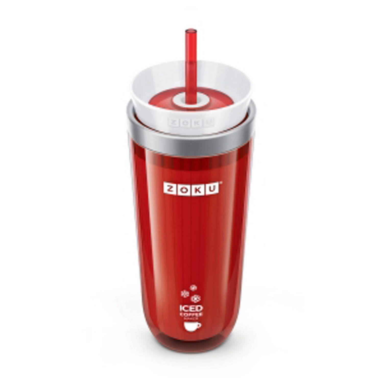 Zoku Iced Coffee Maker 21 cm Rood