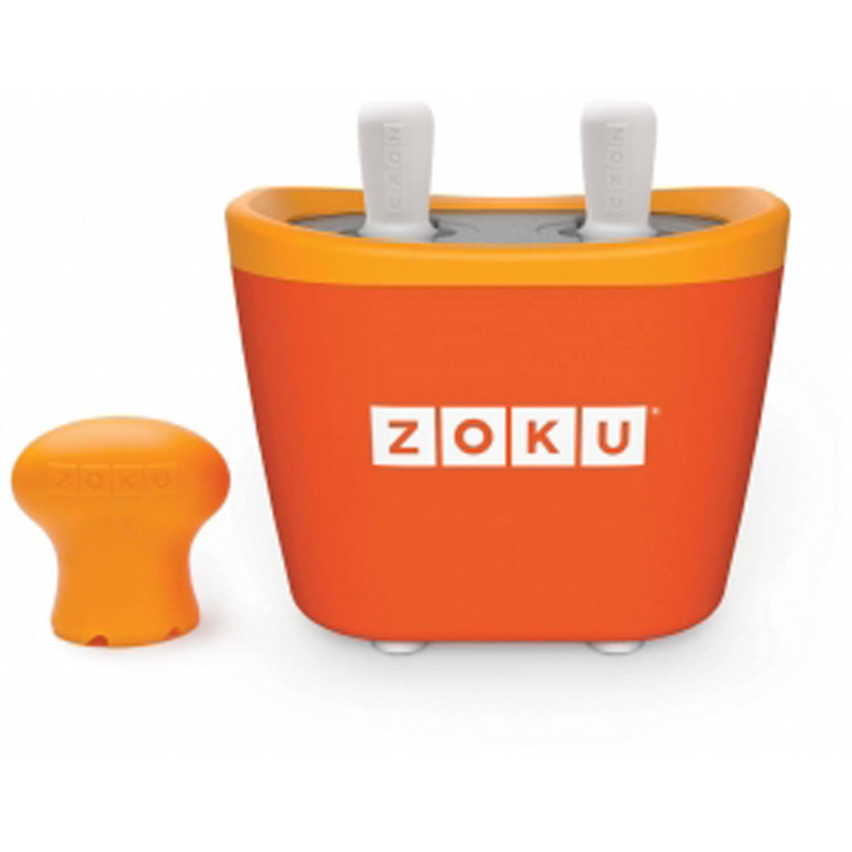 Zoku Quick Pop duo-ijsmaker oranje